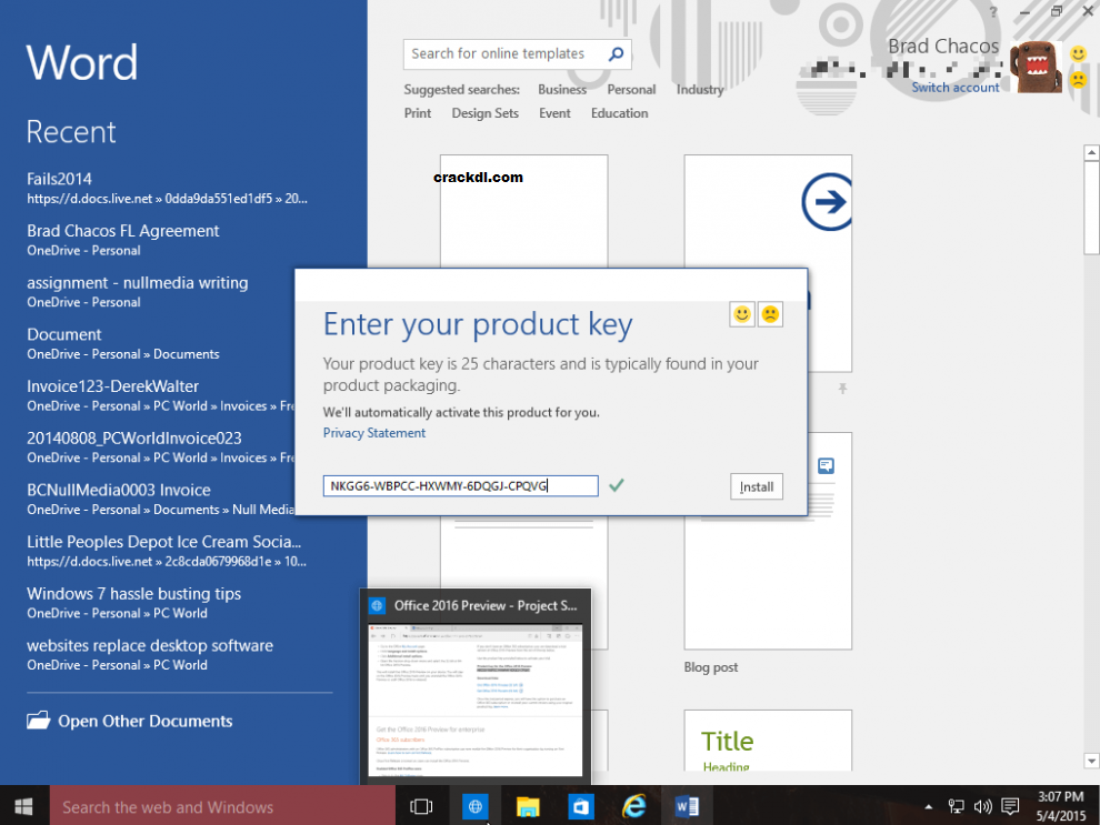 Office 365 Serial Key