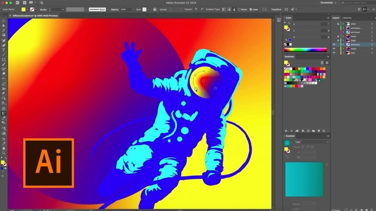 Adobe Illustrator CC 2019 Serial Number