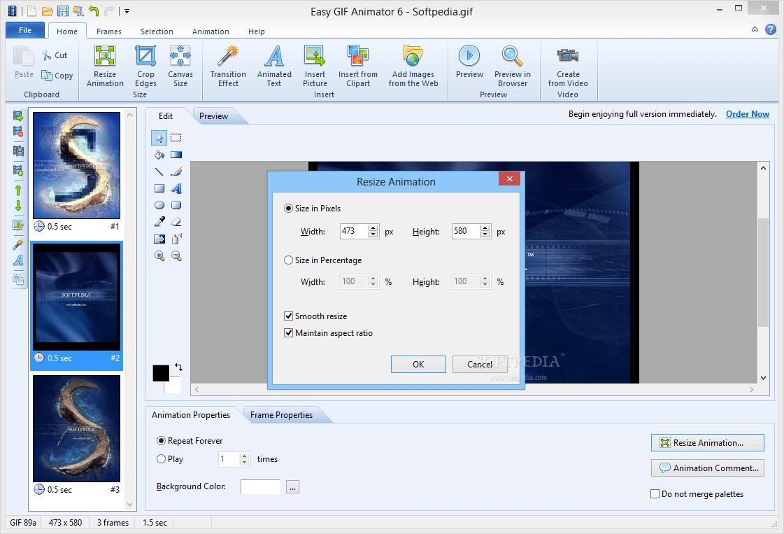 Easy GIF Animator 7.3.6 Crack With License Key Latest Version 2021