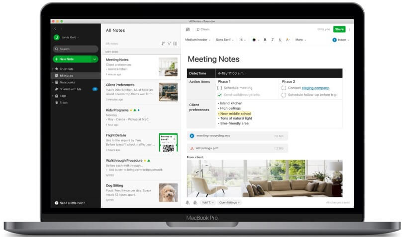 Evernote 10.23.0 Crack Build 2974 With Serial Key 2022 Latest Version