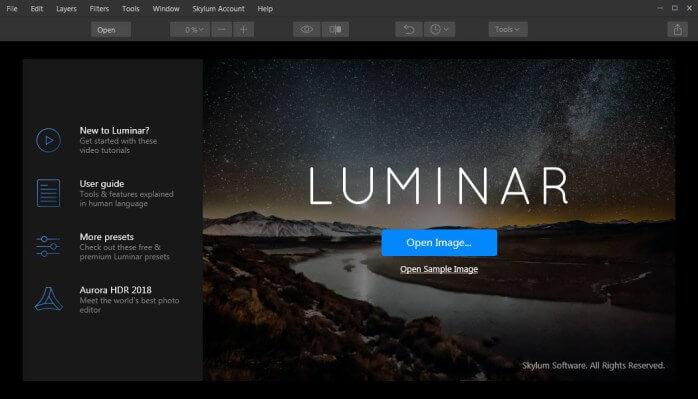 Luminar 4.3.3.7895 Crack + Activation Key Free 2022 Download