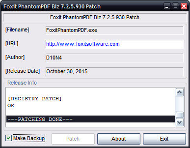 Foxit-PhantomPDF-Business-Activation Key