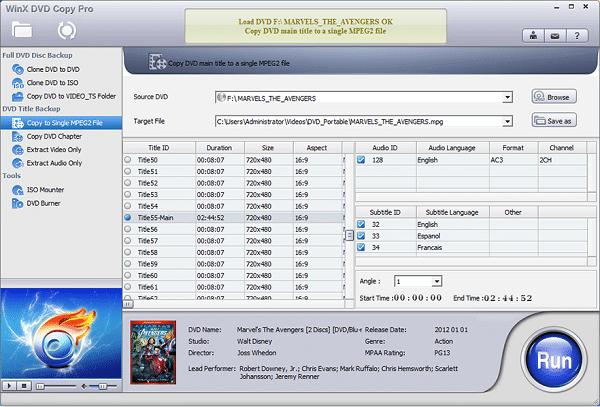 WinX DVD Copy Pro 3.9.6 With Crack Latest Version 2022 Free