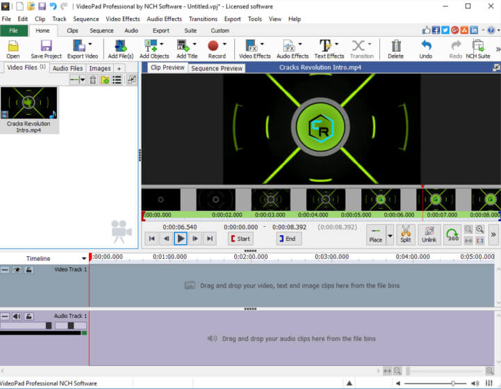 NCH-VideoPad-Video-Editor-Pro-Serial-Key