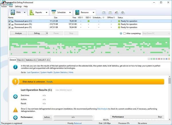 Auslogics Disk Defrag 10.1.0.1 Crack With Serial Key 2021 Latest