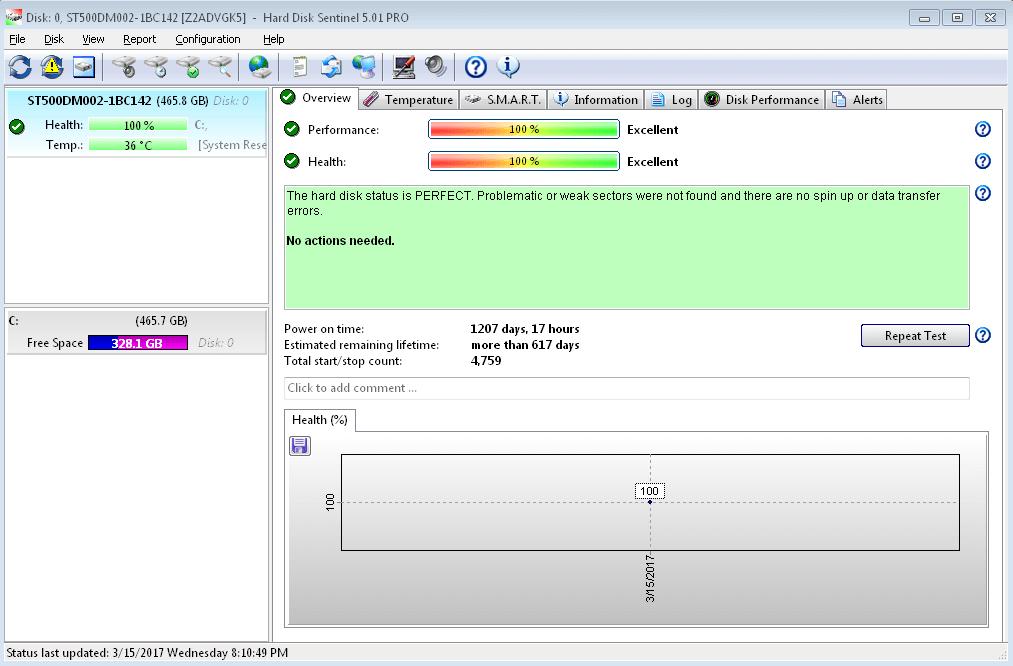 Hard Disk Sentinel Pro 5.70 Crack Full Registration Key Latest Download