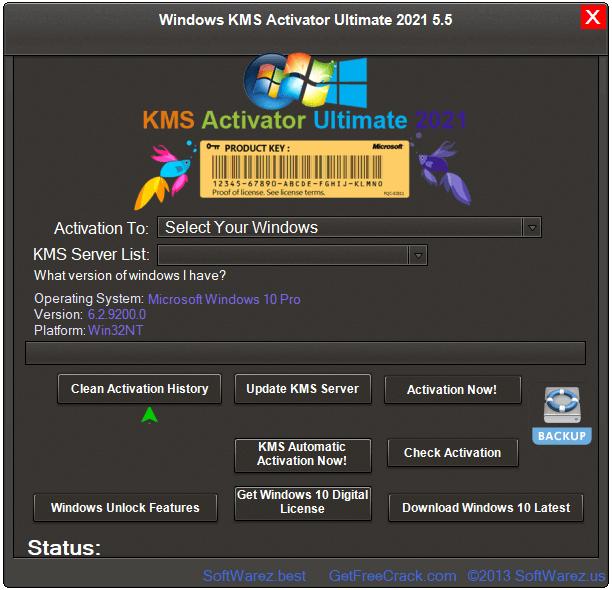 Windows KMS Activator Ultimate 5.5 Crack + Activation Key Download