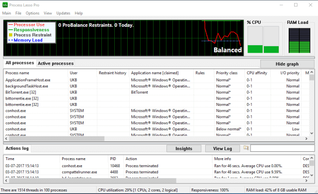 Process Lasso Pro 9.9.1.23 Crack Full Version Free Download