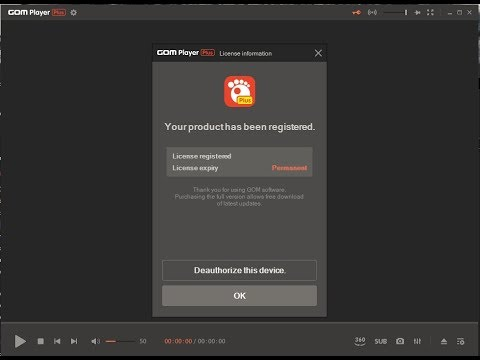 GOM Player Plus crack 2.3.66.5330 Free Download 2021