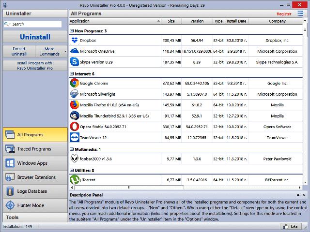 Revo Uninstaller Pro Crack 4.4.5 With Key Download Latest Version 2021