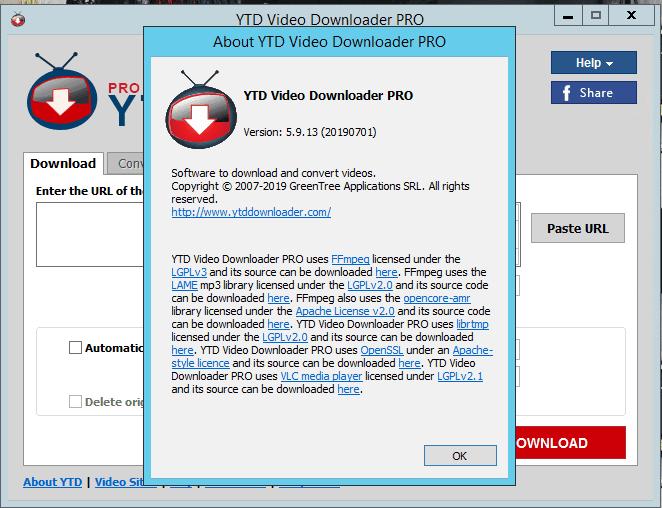 YTD Video Downloader Pro 7.3.23 Crack + Serial Key Download 202
