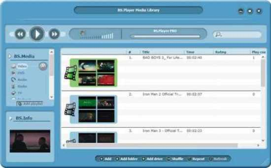 BS.Player Pro 2.82 Build 1096 With Crack Full Version 2021 Download